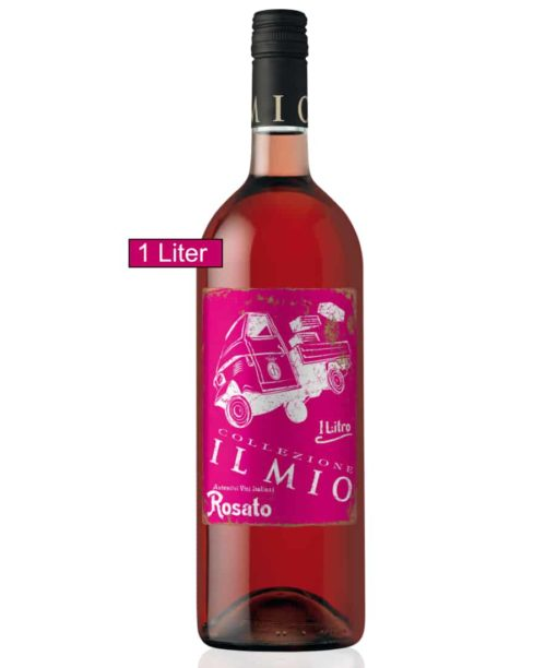 IL Mio Rosato (Rosé) halbtrocken! 2017 IGT Apulien, 1,0 Liter