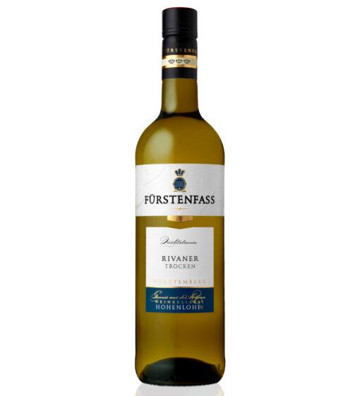Fürstenfass Rivaner 2017 Weinkellerei Hohenlohe